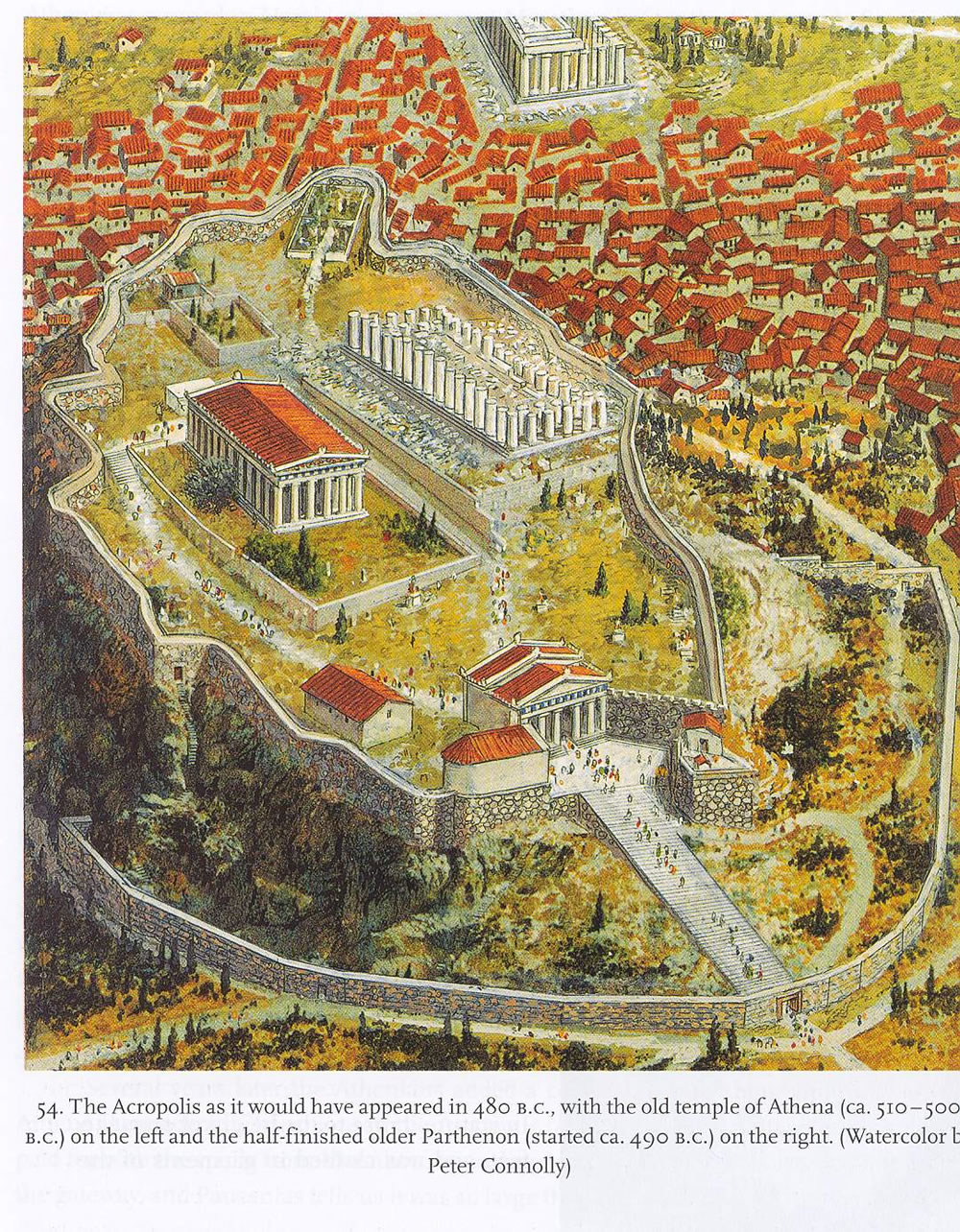 World Tour Center Ancient Athens Greece