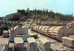 Ancient City Eleusis Temple of Demeter