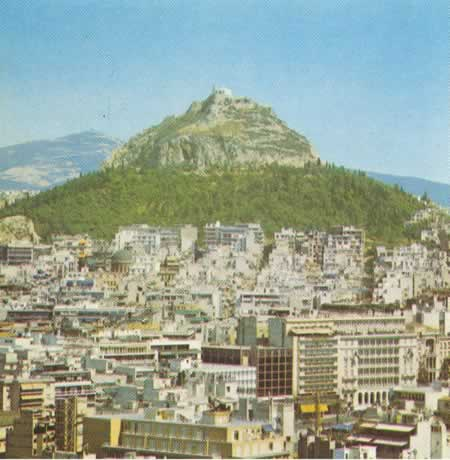 older picture taken from the Acropolis and thats Syntagma Sq. partially visible in the center