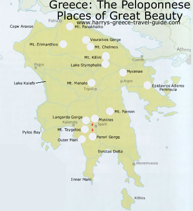 Intro Ecotravel Ecotourism in Greece The Peloponnese