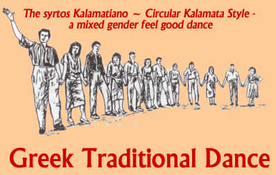 Types of greek holiday or festival dances like this wwhere everyone can join in m4hsunfo