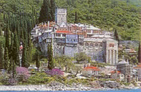 The Monastery of Docheiariou