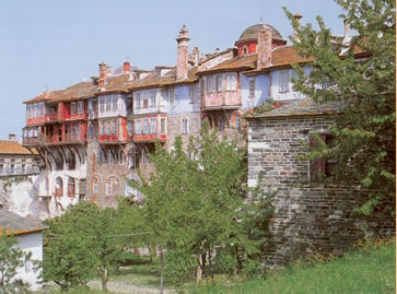 the monastery of Vatopedi