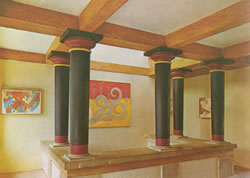 a light well knossos