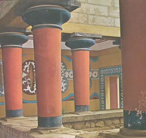The throne room knossos