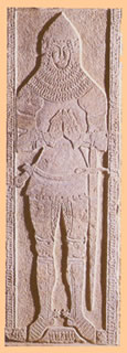 the knight Petrus de Pymoraye 1402 tombstone