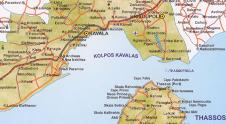 Greece Travel Kavala NE Greece Page 1