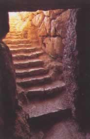 the back cistern secret stairs