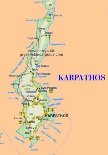 Map & Synopsis: Greek Island of Karpathos (Dodecanese) Karpathos Greece Map on ilia greece map, antikythera greece map, hersonissos greece map, chalcis greece map, grevena greece map, patrai greece map, serifos greece map, samothrace greece map, phocis greece map, istanbul greece map, troy greece map, kifisia greece map, aegean sea greece map, armenia greece map, ithaka greece map, karystos greece map, livadia greece map, karpenisi greece map, lipsi greece map, kalavryta greece map,