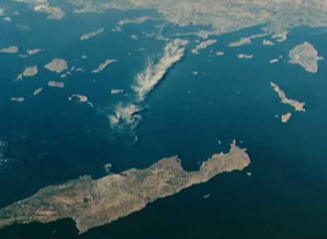 satellite photo greece