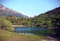 greece peloponnese corinth highlands lake stymphalia