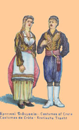 traditional cretan costumes