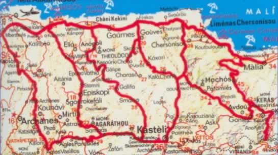 pediada map crete