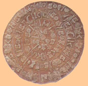 the enigmatic and famous phaistos disc
