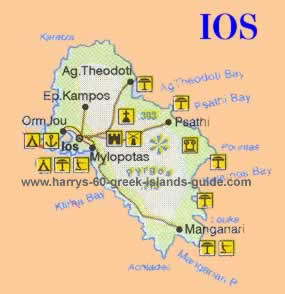greece greek island  ios Ios cyclades guide
