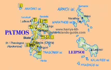 Patmos Travel Holiday Information Greek Islands Moving To Patmos