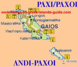 paxi paxoi greek islands