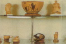 finds from the area are displayed at the museum