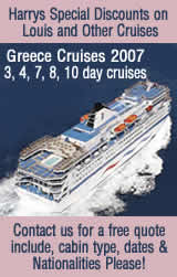 Click to see cruises> Sorry but we have to have your Nationalities or we cant quote you a price