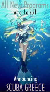 In Greece there are strict laws gov where u may scuba dive