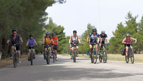 biking the saronic gulf islands