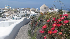 greek islands in the spring